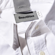 Load image into Gallery viewer, Holyasterisk x Beautilities Ultility Zip Shirt