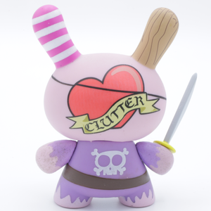 Pirate Dunny x Clutter Magazine x Dunny Series 5 (2008)