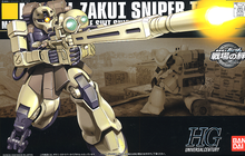 Load image into Gallery viewer, HGUC071 MS-05L Zaku I Sniper Type 1/144