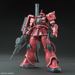 HGGO024 MS-06S Zaku II Principality of Zeon Char Aznable's Mobile Suit Red Comet Ver. 1/144