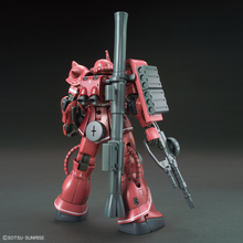 Load image into Gallery viewer, HGGO024 MS-06S Zaku II Principality of Zeon Char Aznable's Mobile Suit Red Comet Ver. 1/144