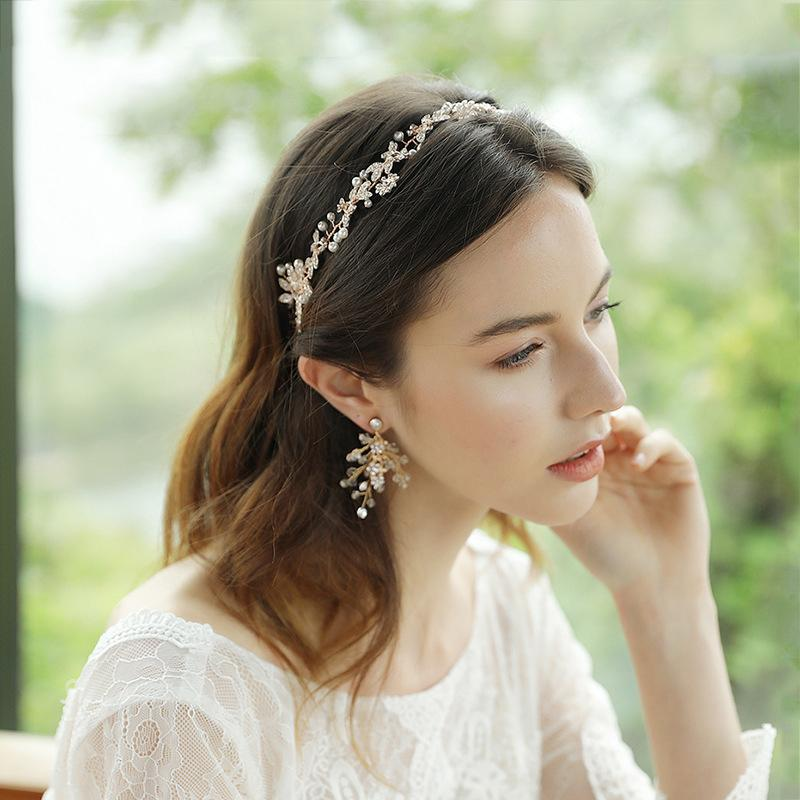 Beautiful Flowers Handmade Beaded Hair Band Accessories