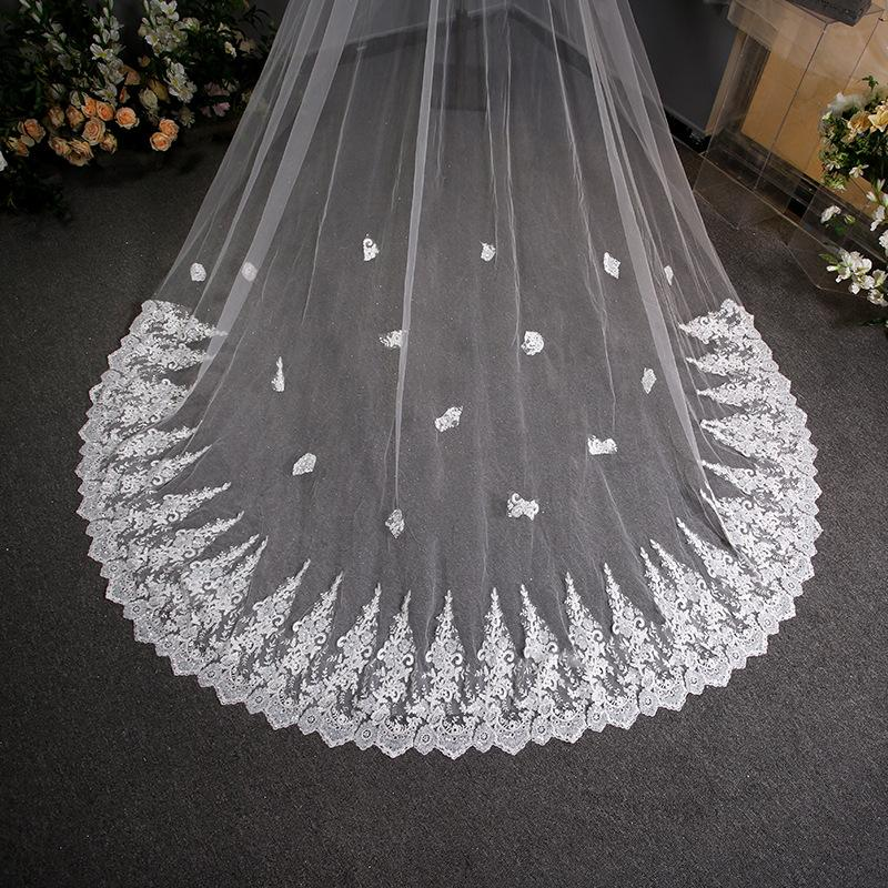 Wedding Veil Headdress Wedding Fairy Lace Bridal Veil Bridal Veil