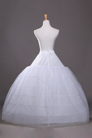 Diameter 120CM Six Steel Double Layer Yarn Wedding Crinoline Hoop Skirt