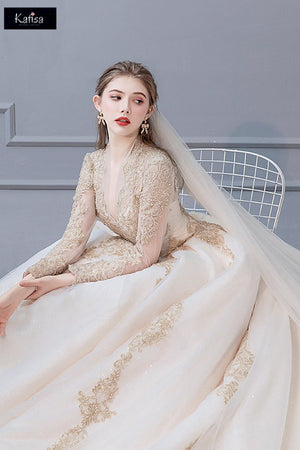 French Wedding 2020 New Bridal Dresses Brides