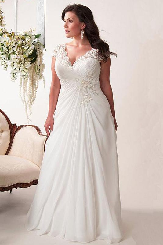 Lace Shoulder Wedding Dress Evening Dress Wedding Dress S white