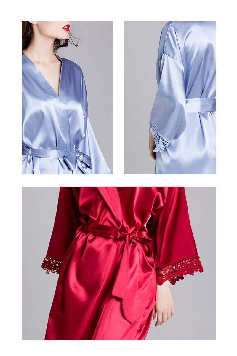 Long-Sleeved Loose Home Bride Bridesmaid Robe Accessories