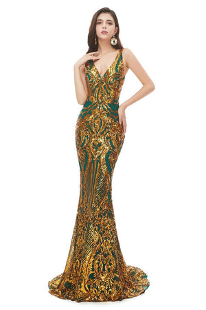 New Sexy Sleeveless Sequin Evening Dress US2 2