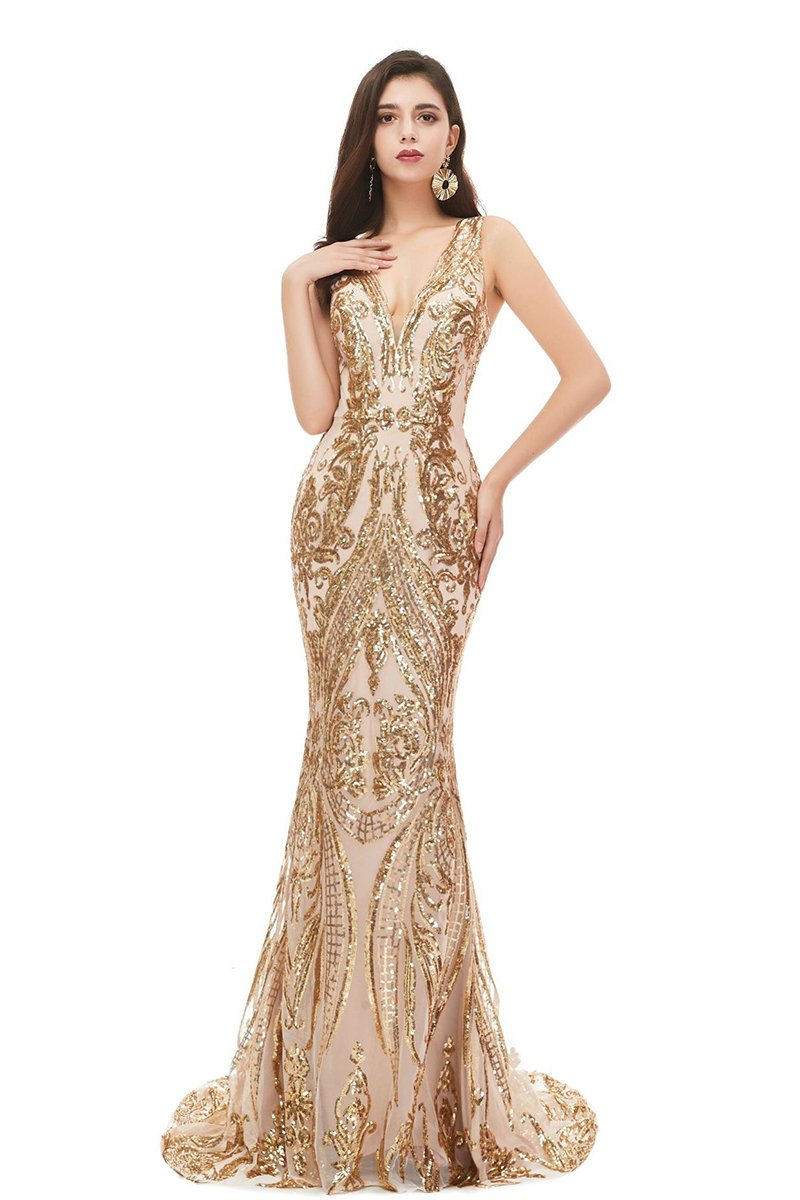 New Sexy Sleeveless Sequin Evening Dress US2 4
