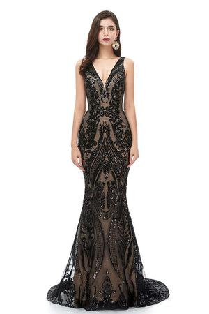 New Sexy Sleeveless Sequin Evening Dress US2 6