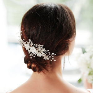 Original Design Hair Comb Handmade Flowers Headpieces Accessories Hair Combs