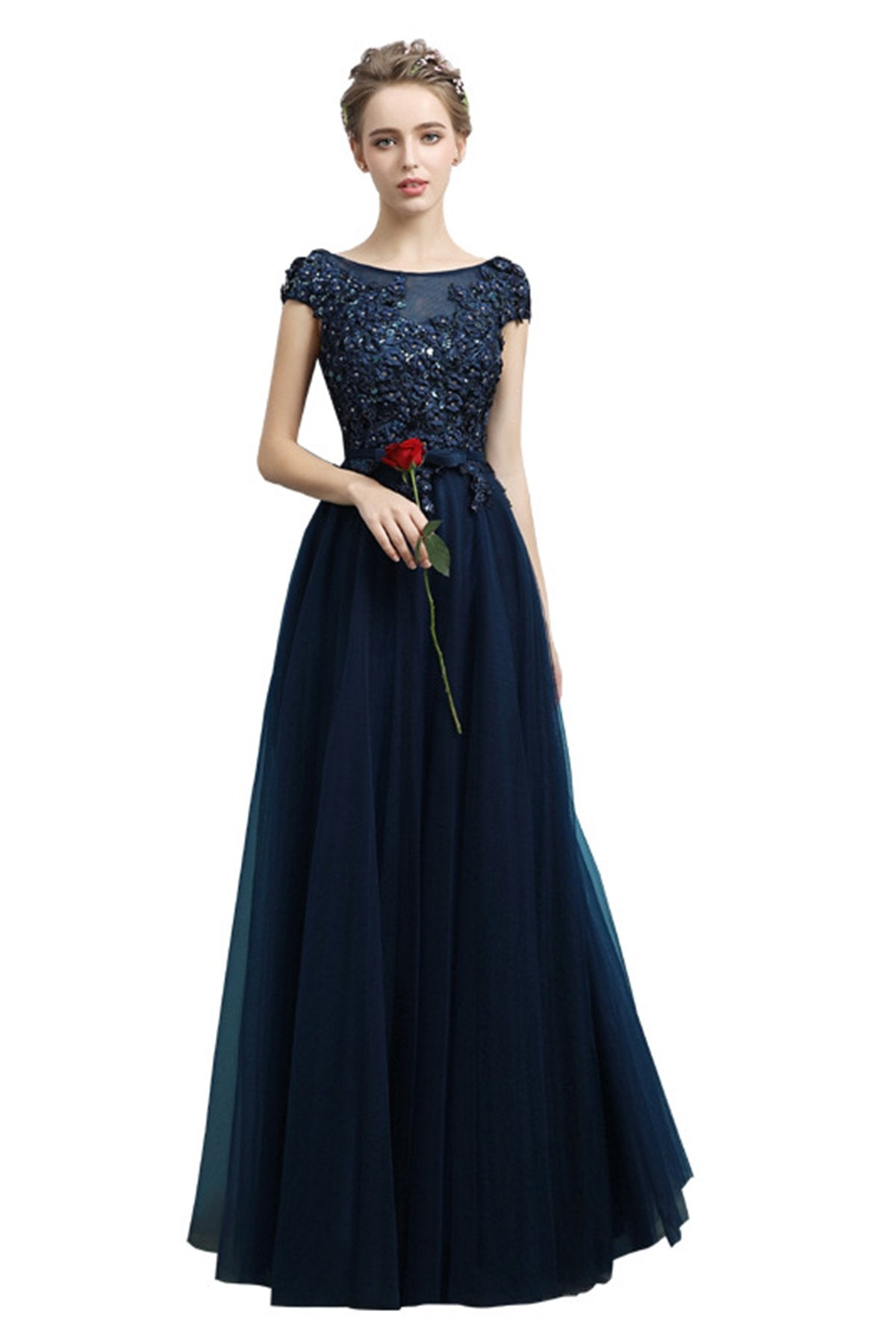 Sequins Design Banquet Evening Dress Evening Dresses