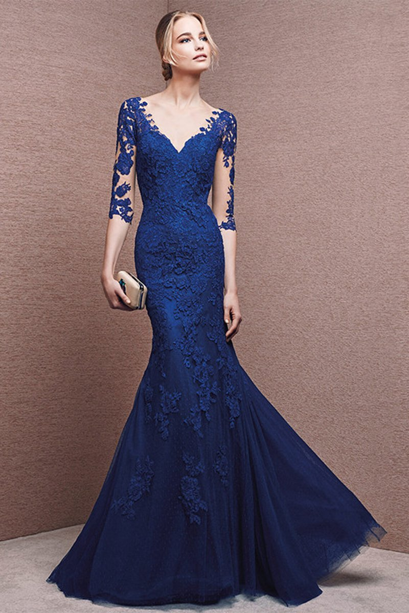Sexy Elegant Lace Wedding Dress Wedding Dress S Vintage Blue