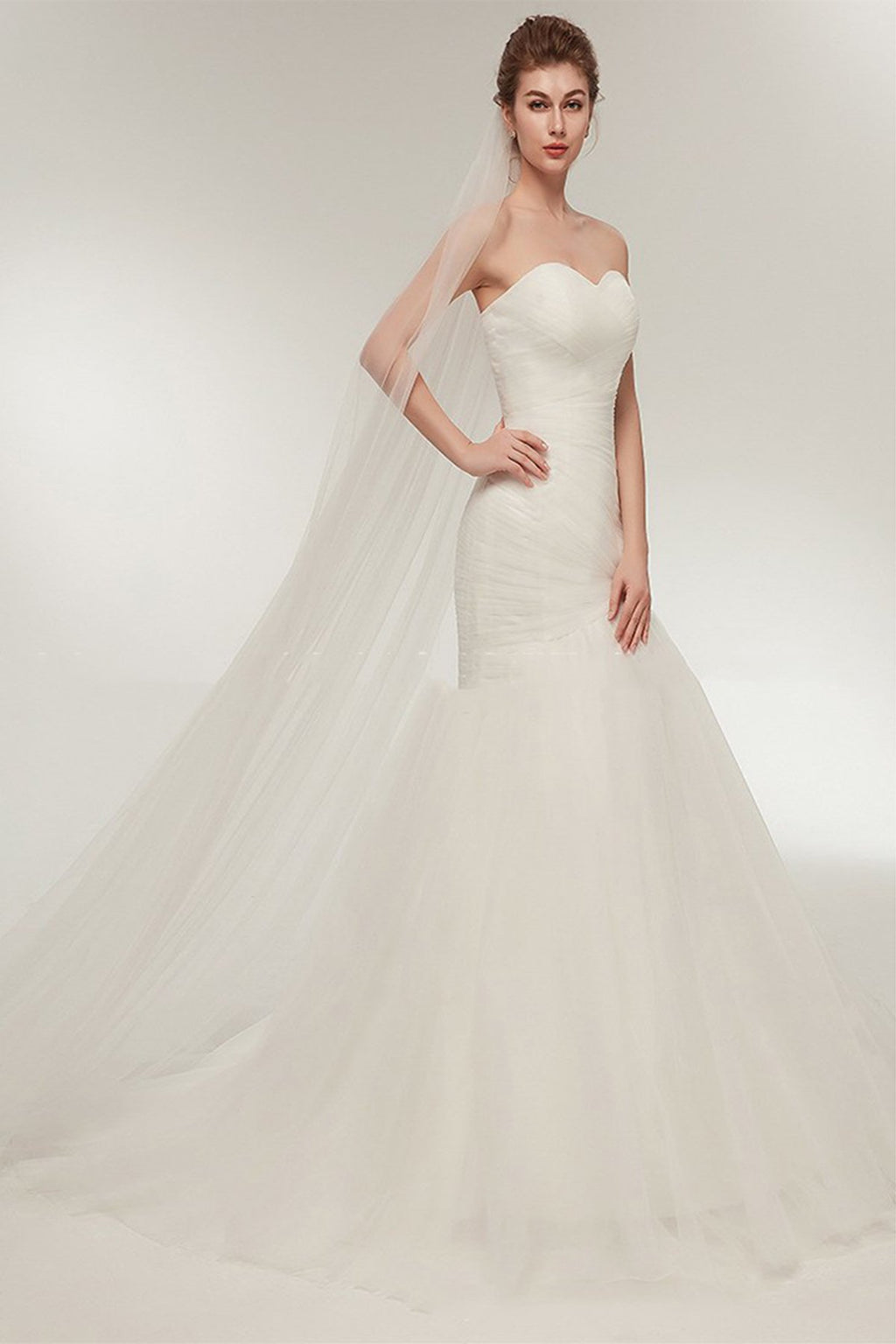Tube Top Fishtail Sexy Wedding Dress Wedding Dress