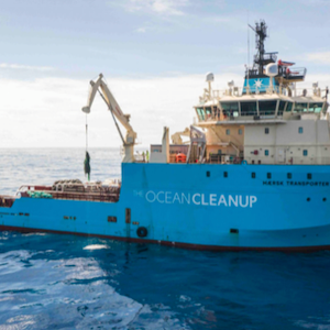 NEWS FLASH (THE OCEAN CLEANUP)