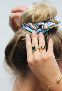 Scrunchie Sunstripe