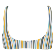 Load image into Gallery viewer, LACE UP TOP - Sunstripe/ Seaspray