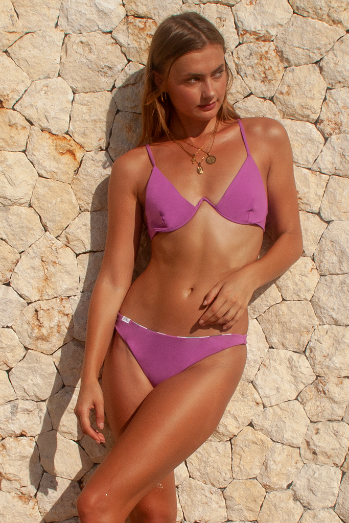 LIEKIE TOP - Meadow Mauve