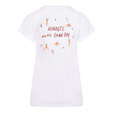 Load image into Gallery viewer, NAMASTE T-SHIRT - White