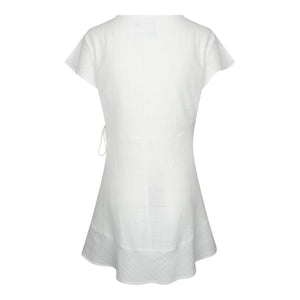 JADE DRESS SHORT - White