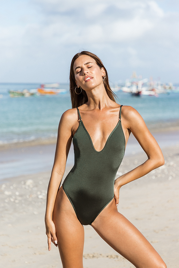 ULA ONE PIECE - Forest green