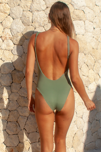 JACQUELINE ONE PIECE - Seaspray / Sunstripe