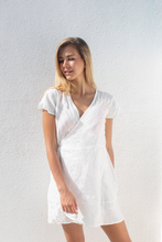 Load image into Gallery viewer, JADE DRESS SHORT - White