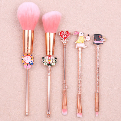 'Alice in Wonderland' Makeup Brushes