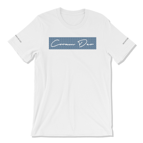 Signature Tee for Men & Women (White) - coramdeoapparel (2479151218745)