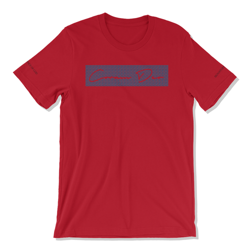 Signature Tee for Men & Women (Red) - coramdeoapparel (2479151284281)