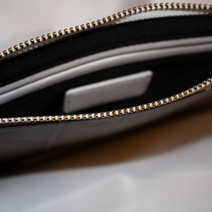Saffiano Leather Clutch - coramdeoapparel