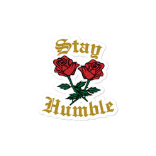 Stay Humble Bubble-free stickers - coramdeoapparel