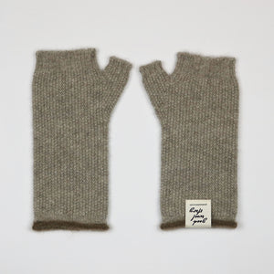 'BRB' Fingerless Gloves