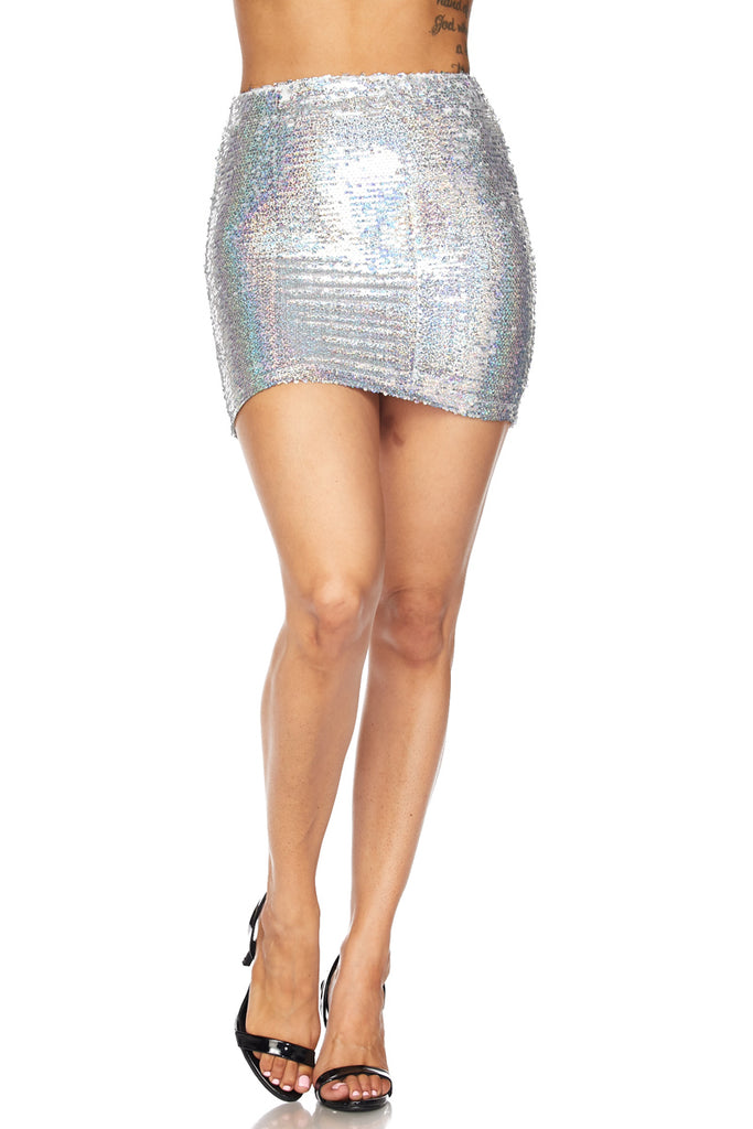 'Starship' Mini Skirt
