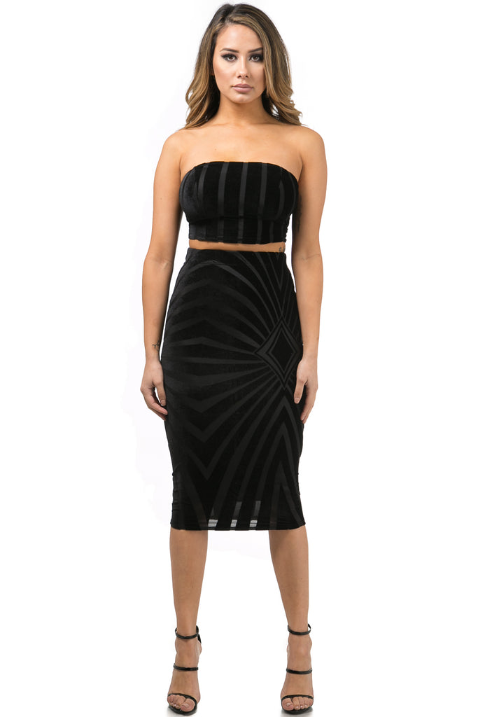 Bandeau Top and Skirt price in Canada