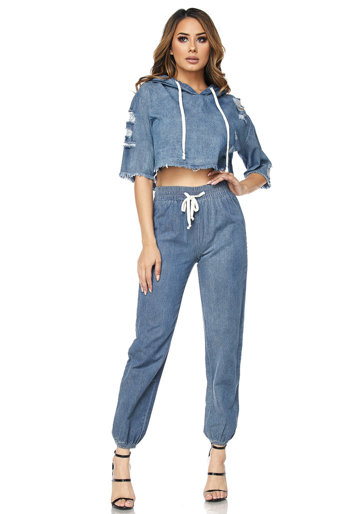 Women Clothing Shop Online Toronto Denim Set
