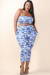 Curvy Bandeau Top and Leggings Women Clothing Shop Online Toronto