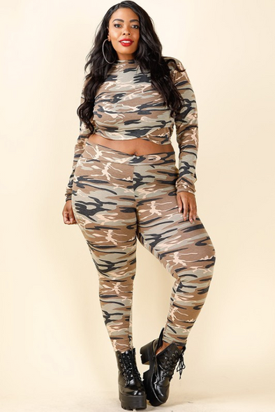 Curvy Top and Leggings women's clothing stores Toronto