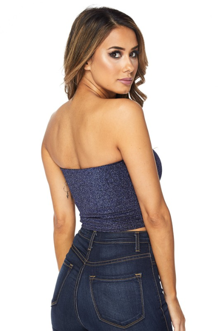 'So Much More' Glitter Bandeau