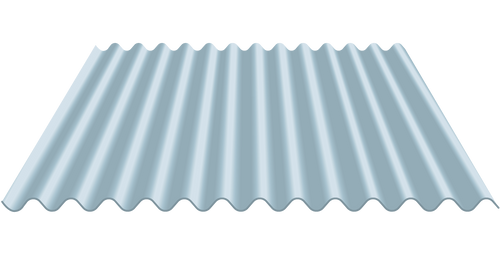 2 ½ CORRUGATED METAL PANELS