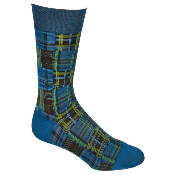 Patchwork Plaid-Blue