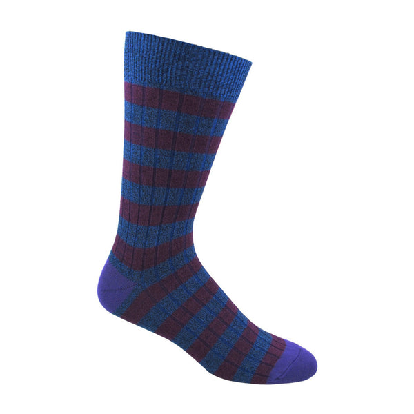 Men's Ribbed Stripe Socks
