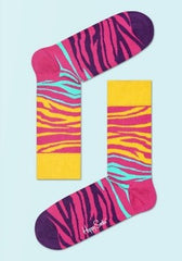 Block Zebra Sock