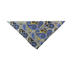 Paisley Blues Pocketsquare