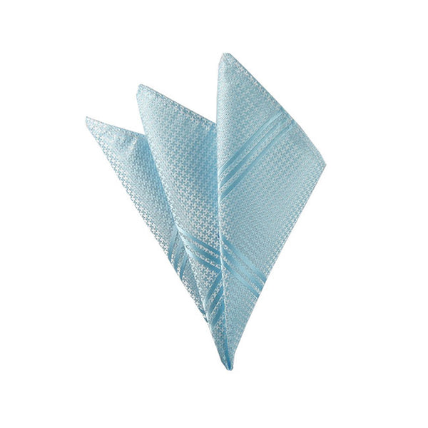 Aqua Pocketsquare