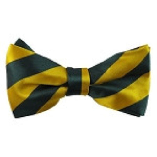 Forest Green/Gold College Stripe