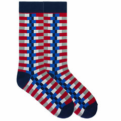 Zipper Stripe socks