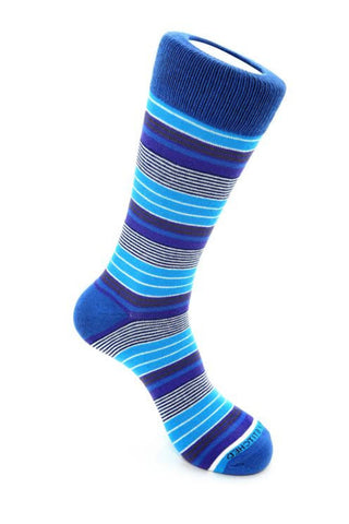 Variegated Stripe Blue