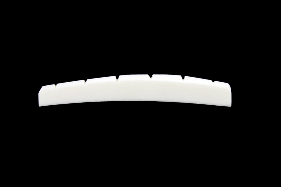 BN-0206 Radiused Slotted Bone Nut for Fender Guitars