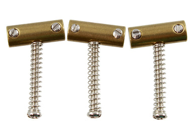 BP-2328 Tilt-compensated Brass Saddle Set